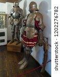 bran  transylvania romania  ... | Shutterstock . vector #1202276782