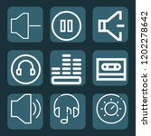 contains such icons as... | Shutterstock .eps vector #1202278642