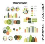 infographic elements  business... | Shutterstock .eps vector #1202283835