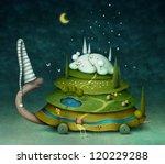 Fairy Turtle  Illustration Or...