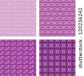 seamless doodle pattern set... | Shutterstock .eps vector #120236242