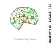 personality brain development ... | Shutterstock .eps vector #1202384752