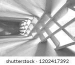 concrete architecture... | Shutterstock . vector #1202417392