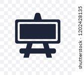 museum canvas transparent icon. ... | Shutterstock .eps vector #1202428135