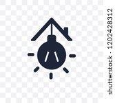 illumination transparent icon.... | Shutterstock .eps vector #1202428312