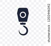 hook crane transparent icon....   Shutterstock .eps vector #1202446342