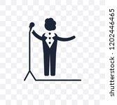 singer transparent icon. singer ...   Shutterstock .eps vector #1202446465