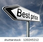 best price road sign button low ...   Shutterstock . vector #120245212
