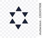 polygonal multiple stars... | Shutterstock .eps vector #1202457838
