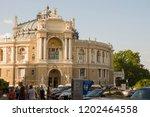 odessa  south of ukraine ...   Shutterstock . vector #1202464558