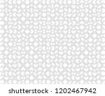500 white puzzles pieces...   Shutterstock .eps vector #1202467942