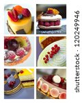 Collage About Cakes And Pastries