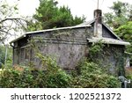 side view of old neglected...   Shutterstock . vector #1202521372