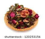 Dry Roses Gift In Withered
