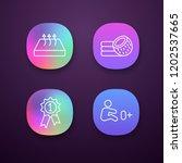 orthopedic mattress app icons...