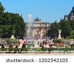 paris  france   june  2018 ... | Shutterstock . vector #1202542105