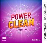 detergent advertising concept... | Shutterstock . vector #1202580625