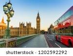 big ben in london in the morning | Shutterstock . vector #1202592292