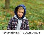 enjoying childhood years. small ... | Shutterstock . vector #1202609575