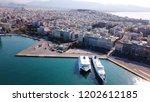 peiraias port  attica   greece  ...   Shutterstock . vector #1202612185