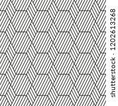 seamless stripe pattern.... | Shutterstock .eps vector #1202613268