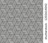 seamless stripe pattern.... | Shutterstock .eps vector #1202614042