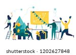 vector illustration small... | Shutterstock .eps vector #1202627848