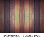 old and weathered wood wall... | Shutterstock . vector #1202631928