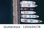 aerial drone top view photo of... | Shutterstock . vector #1202634178