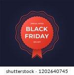 black friday sale banner....   Shutterstock .eps vector #1202640745