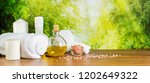 close up spa composition in...   Shutterstock . vector #1202649322