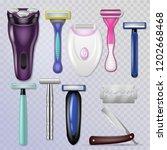 razor vector realistic sharp...   Shutterstock .eps vector #1202668468