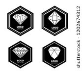 vector logo design elements set ... | Shutterstock .eps vector #1202674312
