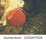 laying of  hdpe pipe... | Shutterstock . vector #1202697028
