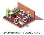 vector isometric manned and...   Shutterstock .eps vector #1202697142