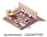 vector isometric manned and... | Shutterstock .eps vector #1202697592