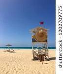 Beach Guard At Praia De Chaves...