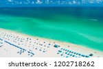 atlantic ocean. aerial view of... | Shutterstock . vector #1202718262
