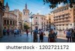 valencia   spain   09 24 2017 ... | Shutterstock . vector #1202721172