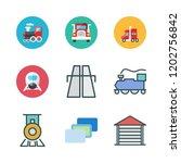 perspective icon set. vector... | Shutterstock .eps vector #1202756842