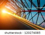 night traffic lights inside of... | Shutterstock . vector #120276085