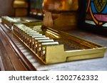 cigar holder in in budapest...   Shutterstock . vector #1202762332