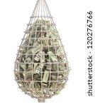 Catch Money II. Business / Finance concept - stock photo
