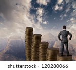 concept of business and money... | Shutterstock . vector #120280066