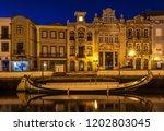 aveiro  portugal. july 28  2018....   Shutterstock . vector #1202803045