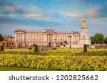 buckingham palace in london  uk | Shutterstock . vector #1202825662