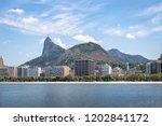 botafogo skyline with corcovado ...   Shutterstock . vector #1202841172