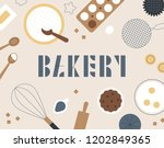 an illustration pattern card...   Shutterstock .eps vector #1202849365