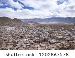 lanscape scene of stok mountain ... | Shutterstock . vector #1202867578