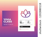 yoga class app ux ui design for ...